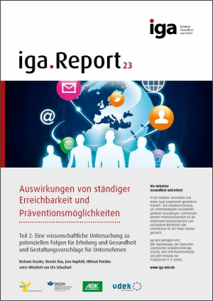 Coverbild des iga.Report 23 Teil 2